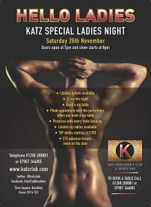 Kats Ladies Night